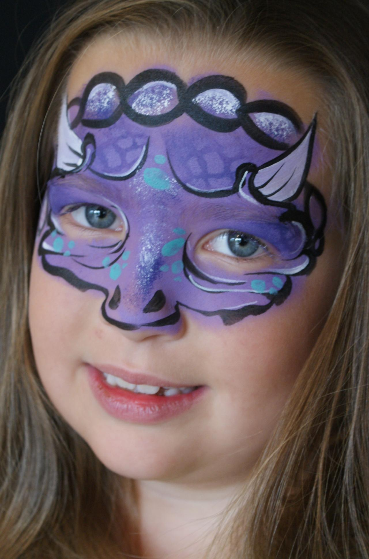 Interested In The Panda Face Paint Shown Above Check That Out Here Tutorial